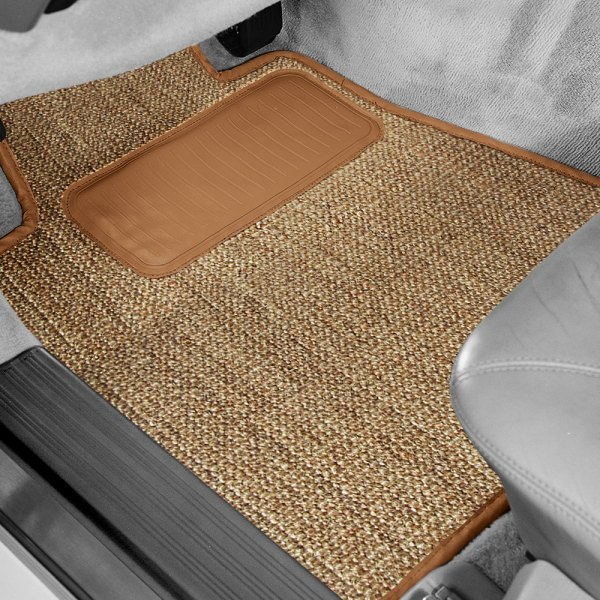 Designer Mat® - Sisal Auto Mat™ 1st Row Oak Carpeted Floor Mats