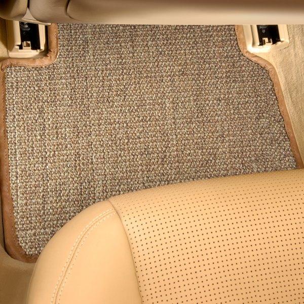 Designer Mat® - Sisal Auto Mat™ Oak Carpeted Mats