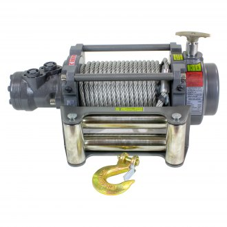 Detail K2® - Warrior NH Series Hydraulic Winch With Steel Rope