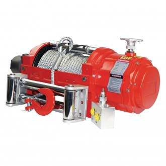 Detail K2® - Warrior NW Series Hydraulic Winch With Steel Rope