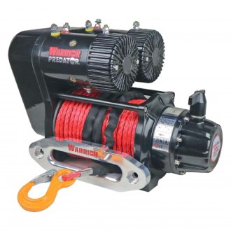 Detail K2® - 10,000 lbs Predator Series Dual Performance Electric Winch With Synthetic Rope