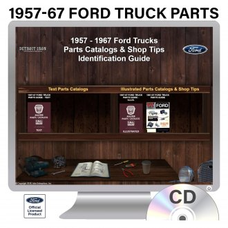 Detroit Iron® - 1957-1967 Ford Truck Parts Manuals on CD