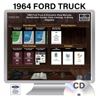 Detroit Iron® - 1964 Ford Truck Factory OEM Shop Manuals on CD