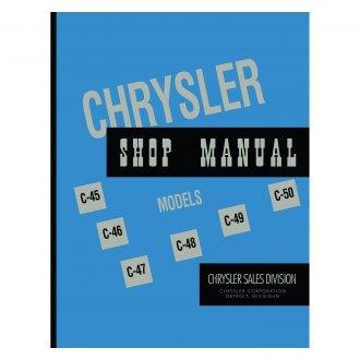 chrysler shop manuals