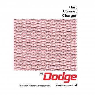 1966 Dodge Charger Coronet and Dart Shop Manual 66 Repair Service Book