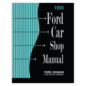 Detroit Iron® - 1959 Ford Car Shop Manual