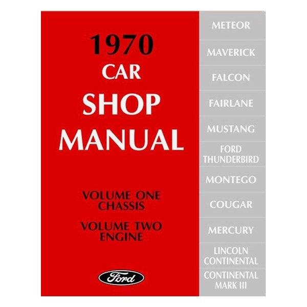 Detroit Iron® - Shop Manual  sc 1 st  CARiD.com & Detroit Iron® DPRF-21-70SM - 1970 Ford Car Shop Manual markmcfarlin.com