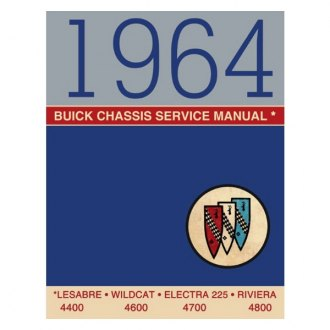 Detroit Iron® - 1964 Buick Chassis Service Manual