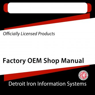 Detroit Iron® - Factory OEM Shop Manuals on CD