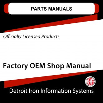 Detroit Iron® - Parts Manuals on CD