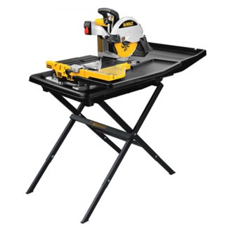 "DeWALT® - 10"" Wet Tile Saw with Stand"