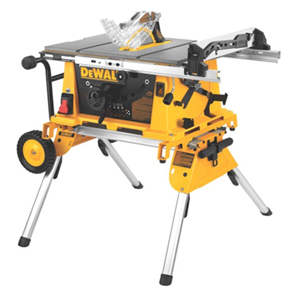 Dewalt dw744xrs 10 compact table saw with stand for 10 dewalt table saw