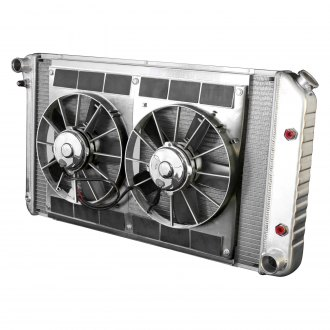 DeWitts® - Direct Fit Pro Series Aluminum Radiator with Fan