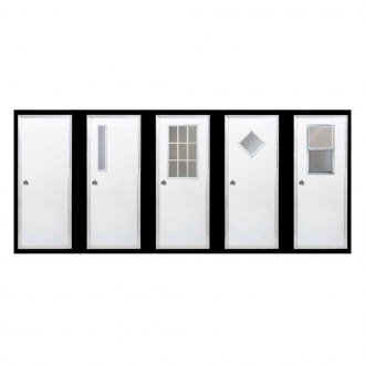 "Dexter® - MHD 36"" x 80"" RH Blank with White Exterior"