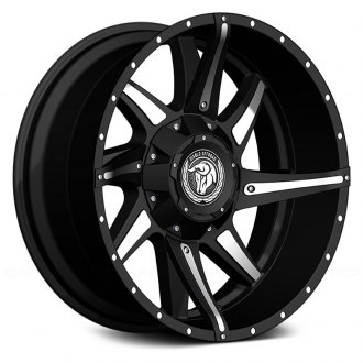DIABLO OFFROAD® - CONFLICT Gloss Black with Machined Inserts