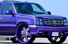 DIABLO® - ELITE Custom Painted on Cadillac Escalade