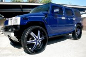 DIABLO® - ELITE Black with Chrome and Custom Inserts on Hummer H2