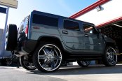 DIABLO® - ELITE Chrome with Black and Custom Inserts on Hummer H2