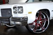 DIABLO® - ELITE Chrome with Black and Custom Inserts on Car