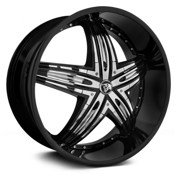 DIABLO® - RAGE Black with Chrome Inserts
