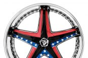 DIABLO® - REFLECTION X Chrome with Custom Inserts Style - Confederate