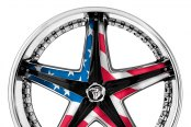 DIABLO® - REFLECTION X Chrome with Custom Inserts Style - Old Glory