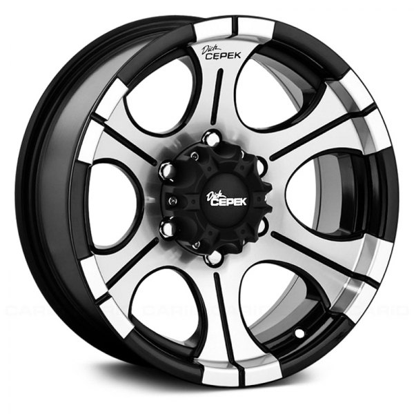 DICK CEPEK® - DC2 Gloss Black with Machined Face