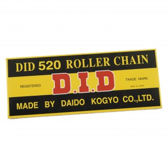 D.I.D Chain® - 520 Standard Non-O-Ring Chain