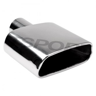 Different Trend® - Hi-Polished Series Stainless Steel Rectangular Exhaust Tip