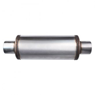 Different Trend® - Flow II Series Stainless Steel Round Bare Exhaust Muffler
