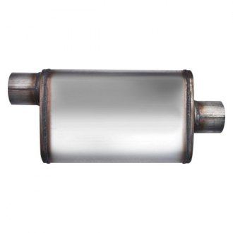 Different Trend® - Flow II Series Stainless Steel Oval Bare Exhaust Muffler