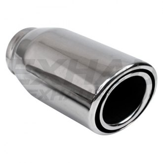 Different Trend® - Hi-Polished Series Stainless Steel Round Double Layer Exhaust Tip
