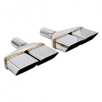 Different Trend® - Vintage Series Challenger Style Rectangular Angle Cut Exhaust Tip
