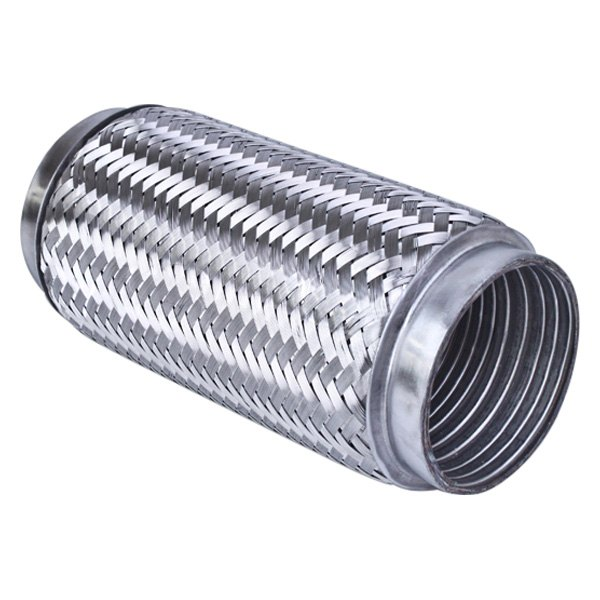 Different Trend® - Flexible Series Stainless Steel Double Braided Exhaust Pipe  sc 1 st  CARiD.com & Different Trend® DTF-1708B - Flexible Series Stainless Steel Double ...
