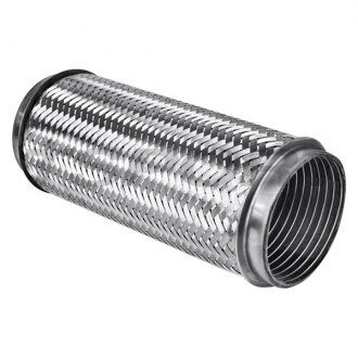 "Different Trend® - Stainless Steel Interlock Flexible Pipe (3.50"" ID, 3.50"" OD, 8"" Overall Length)"
