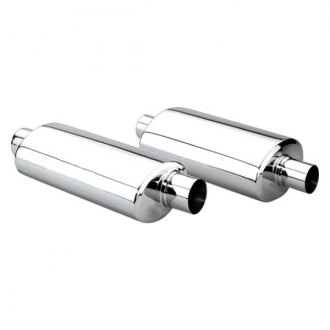 Different Trend® - Hi-Polished Series Stainless Steel Exhaust Muffler