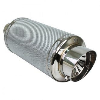 Different Trend® - Carbon Fiber Series Stainless Steel Round Exhaust Muffler