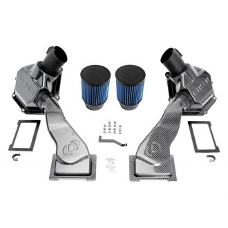 Dinan® - Carbon Fiber Cold Air Intake System with Blue Filter