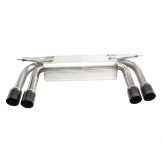 Dinan® - Free Flow™ 304 SS Axle-Back Exhaust System with Quad Rear Exit
