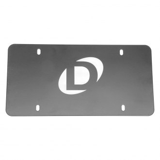 Dinan® - Polished License Plate with White Dinan Logo