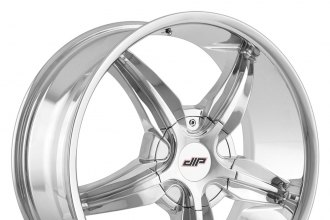 "DIP® - DIPLOMAT Chrome (18"" x 7.5"", +40 Offset, 5x110 Bolt Pattern, 72.62mm Hub)"