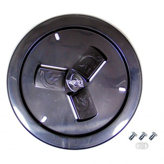 Dirt Defender® - Vortex Black Vented Wheel Cover