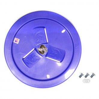 Dirt Defender® - Vortex Dark Blue Vented Wheel Cover