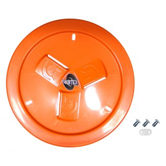 Dirt Defender® - Vortex Orange Vented Wheel Cover