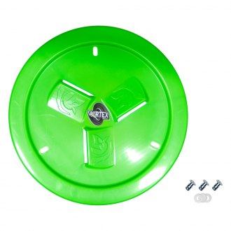 Dirt Defender® - Vortex Neon Green Vented Wheel Cover