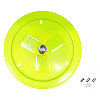 Dirt Defender® - Vortex Neon Yellow Vented Wheel Cover