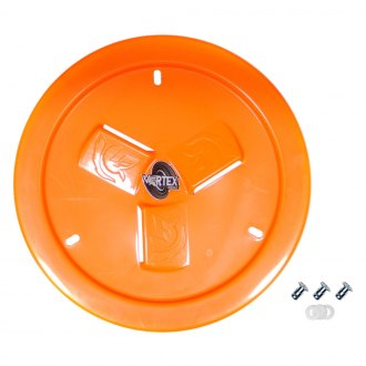 Dirt Defender® - Vortex Neon Orange Vented Wheel Cover