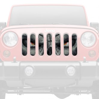 Dirty Acres® - 1-Pc Always Watching Style Perforated Main Grille
