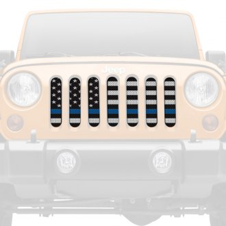 Dirty Acres® - 1-Pc American BW BTB Style Perforated Main Grille