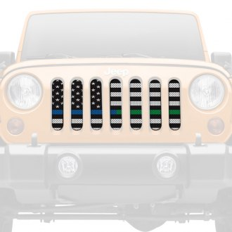 Dirty Acres® - 1-Pc American BW BTB/BTG Style Perforated Main Grille
